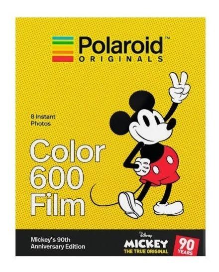 Filme Polaroid Original 600/635/636 Color Moldura Mickey