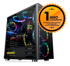 Gabinete Thermaltake V200 Tg/black/win/spcc/tempered Glass*1