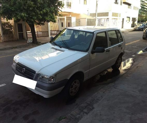 Fiat/uno Mille Economy 2013 - 37mil Rodado