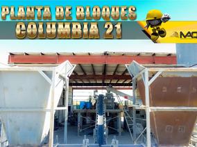 Bloquera Columbia 21, Planta De Bloques, Bloques, Cemento