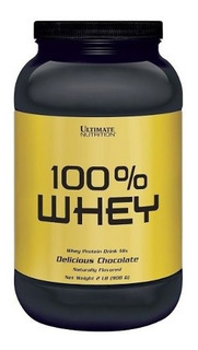 100% Whey 908g Original Com Nota - Ultimate Nutrition