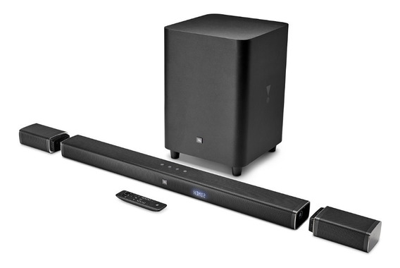 Jbl Bar 5.1 Soundbar 4k Home Sem Fio Bivolt Arc Rev Oficial