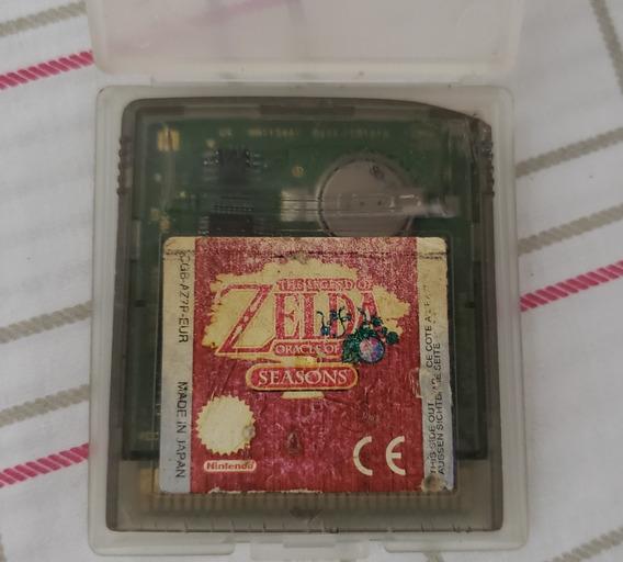Game Boy Color Game Zelda Oracle Of Seasons