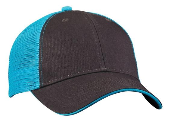 Gorra Valucap Azul Neon