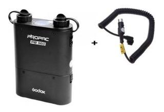 Kit Propac 960 Godox Con Cable Nx Para Flash Nikon