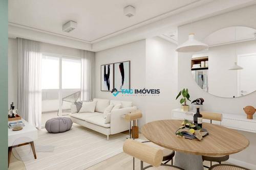 Apartamento Com 2 Dormitórios À Venda, 59 M² Por R$ 673.000,00 - Lapa - São Paulo/sp - Ap1644