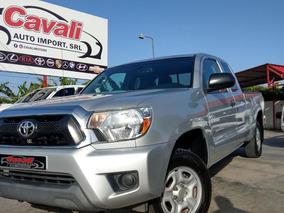 Toyota Tacoma Cabina Y Media Gris 2013