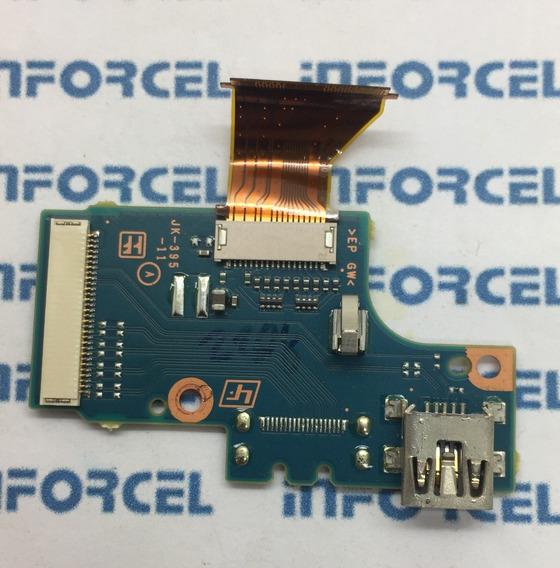 Placa Dados Usb Camera Sony Dcr Sx83 Original Retirado
