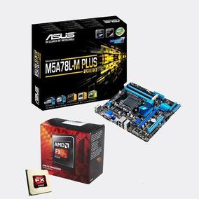 Kit Amd Fx 8320 M5a78l-m Plus Usb3 + Processador Fx 8300