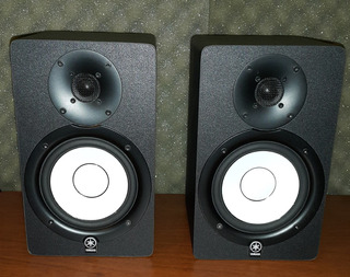 Monitores Estudio Profesional Yamaha Hs5m Activos Par