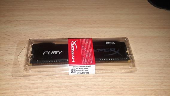 Memoria Ram 4 Gb Hyperx A 2666 Mz Color Negro