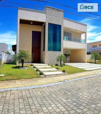 Majestosa Casa No Vila Dos Lagos Em Ponta Negra! - Ca0128
