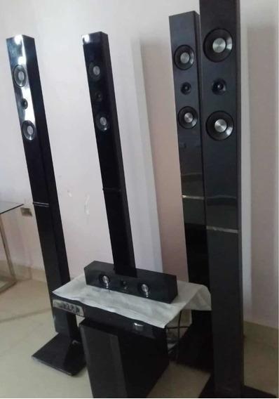 Home Theater Samsung Ps-wc555 Sistema De Altavoz+subwoofer
