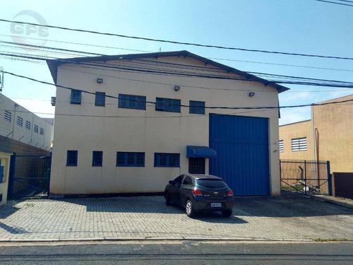 Imagem 1 de 15 de Galpão À Venda, 600 M² Por R$ 1.275.000,00 - Distrito Industrial Nova Era - Indaiatuba/sp - Ga0504