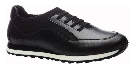 Sapatênis Masculino 4063 Preto/techprene Preto Doctor Shoes