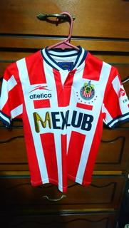 Jersey Chivas Atlética De Niño, Mexlub
