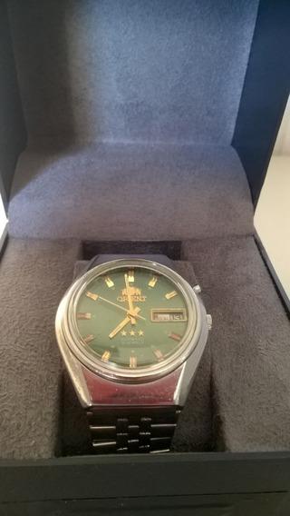 Lindo Relógio Orient Modelo Raro Anos 70 Automático