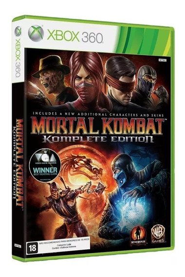 Mortal Kombat 9 Komplete Edition - Xbox 360 Em Inglês