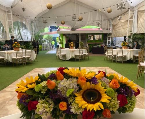 Imagen 1 de 10 de Jardin Para Reuniones Familiares Y Empresariales