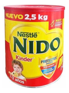 Fórmula para lactantes en polvo Nestlé Nido Kinder en lata de 2.5kg
