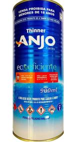 Thinner Eco 5000 Para Pu/poliéster 900ml Anjo