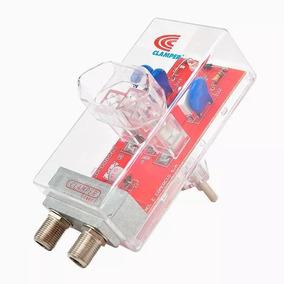 2 Dps - Protetor Contra Raios Clamper Energia + Cabo Tv Biv