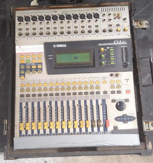 Mesa De Som Digital Yamaha 01v Antiga