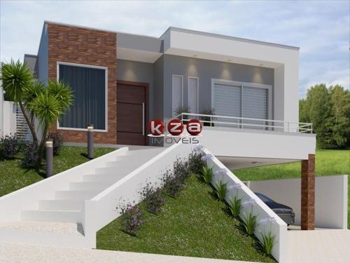 Casa Térrea Com 3 Suítes A Venda Em Condomínio Fechado Em Valinhos - Ca01844 - 69406375