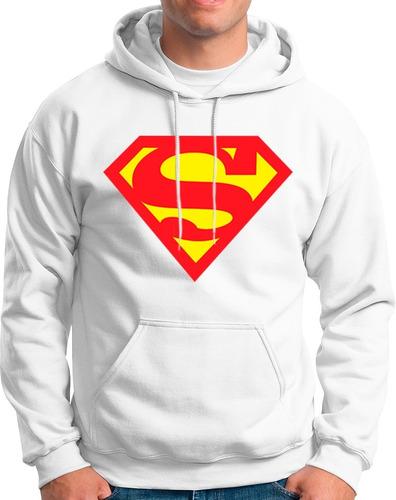 Imagen 1 de 1 de Sudadera Superman!! Varios Colores Super Heroes