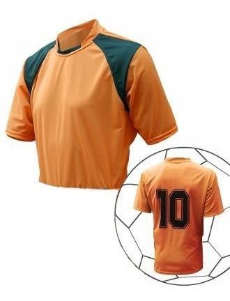 Camisa Uniforme Futebol Society Futsal Várias Cores 18 Pçs