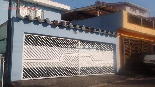 Sobrado Com 3 Dormitórios À Venda, 120 M² Por R$ 520.000,00 - Parque América - São Paulo/sp - So2087