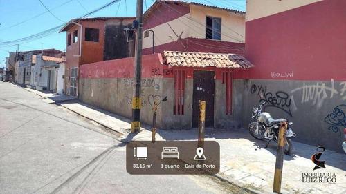 Imagem 1 de 5 de Ca968 -aluga Casa No Cais Do Porto Com Um Quarto Próx. Ao M Dias Branco - Ca0131