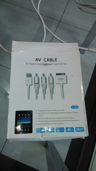 Cabo Av Para iPad