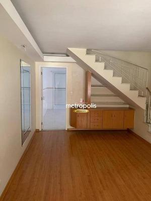 Sobrado Com 3 Dormitórios À Venda, 161 M² Por R$ 690.000 - Nova Gerty - São Caetano Do Sul/sp - So0490
