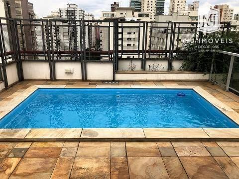 Imagem 1 de 30 de Cobertura Com 4 Dormitórios À Venda, 247 M² Por R$ 2.250.000 - Moema - São Paulo/sp - Co0013