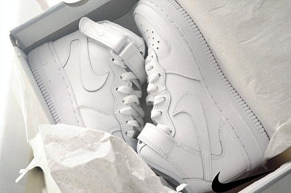 Zapatos Nike Air Force One Blancos Vietnam Talla 39 (35usd)