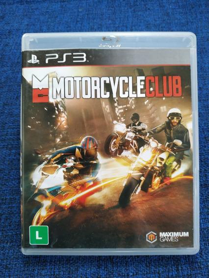 Motorcycle Club Midia Fisica Ps3 Seminovo Usado