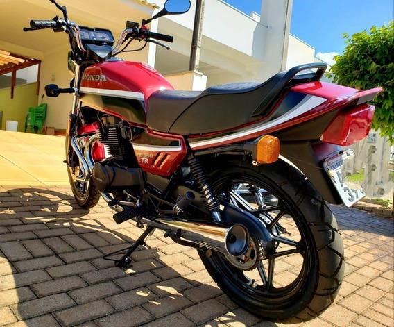 Honda Cb 450 Tr Rua