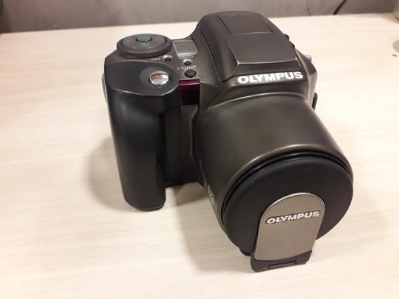 Câmera Olympus L-30 28 - 110 Mm Auto Focus Funcionando.