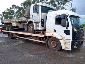 Guincho Plataforma 10.40x2.60 Ex Pesado Ford Cargo 1717