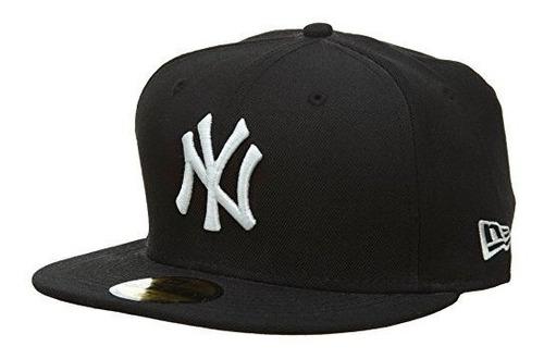 New Era Men's 59fifty? Sombrero Negro De New York Yankees 7