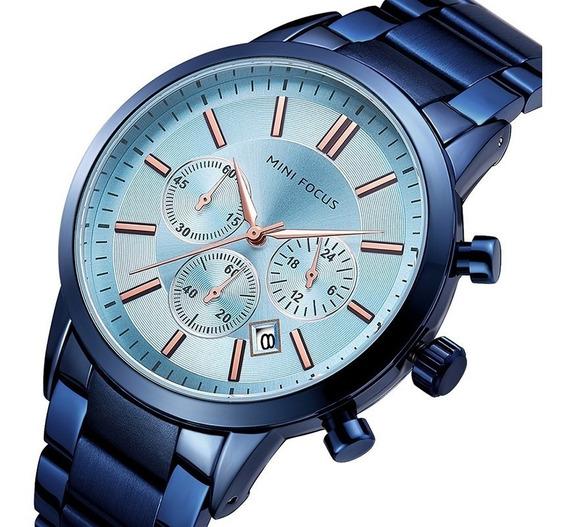 Relógios De Pulso De Quartzo Dos Homens Mf0188g Com Relógio