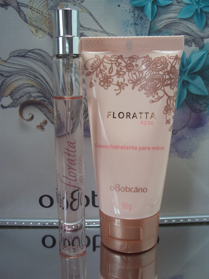 Kit Miniatura Do Perfume Floratta In Rose + Hidratante Para Mãos Floratta In Rose O Boticário