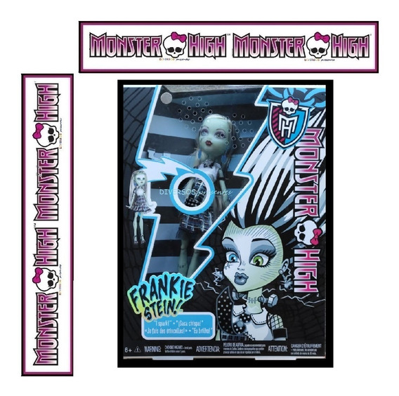 Monster High Frankie Stein Choque Ghoul
