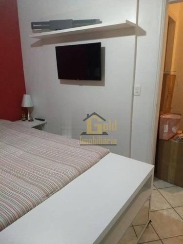 Apartamento Com 3 Dormitórios À Venda, 97 M² Por R$ 365.000 - Jardim Palma Travassos - Ribeirão Preto/sp - Ap2593