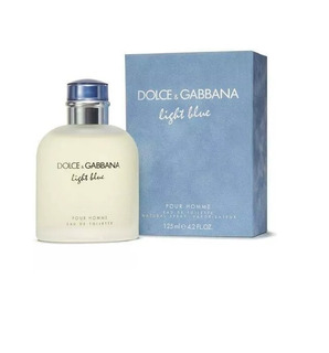 Dolce & Gabbana Light Blue Masculino 125 Ml Edt Original