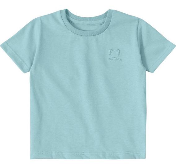 Camiseta Tigor T. Tigre Bebê Menino Verde