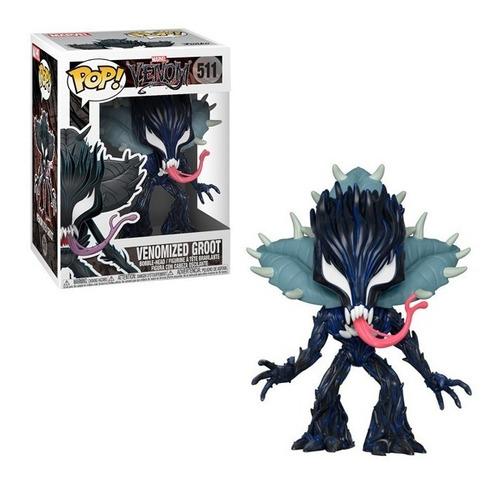 Groot Venomizado Marvel - Funko Pop Original Nuevo