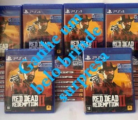 Red Dead Redemption2 Ps4 Mídia Física Lacrado