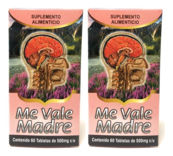 Me Vale Madre Nutrimed 60 Tab 500 Mg (2 Piezas) Envio Full